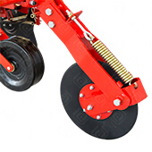 Interrow Cultivator with Spring Tine Foldable