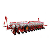 Pneumatic Precision Planter with Side Drawbar